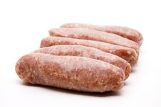 Free Coarse Fried Sausage Stock Photo - 20050050