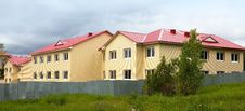 Free Construction Of The House. Finishing Work. Facade. Royalty Free Stock Images - 20050329