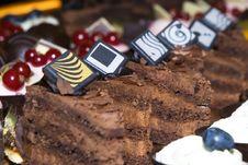 Free Heart Abstract Chocolate Idea Royalty Free Stock Photo - 20050365