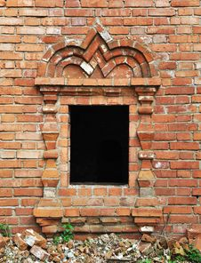 Free Vintage Window In Ancient Monastery Royalty Free Stock Image - 20050636