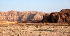 Free Travel In Arava Desert Royalty Free Stock Photography - 20050707