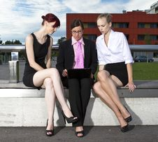 Free Young Business Women Royalty Free Stock Image - 20051616