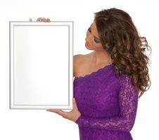 Free Women Whit Sign Stock Photo - 20051770