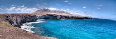 Free Lanzarote Coastal Landscape In Los Ajaches Royalty Free Stock Photography - 20051977
