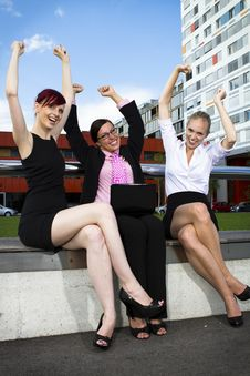 Free Young Business Women Stock Photography - 20052072