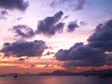 Free Sunset View Royalty Free Stock Image - 20052176