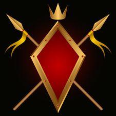 Free Heraldic Composition. Royalty Free Stock Photo - 20052225