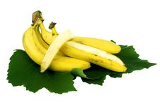 Free Ripe Bananas Royalty Free Stock Image - 20052646