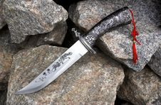 Free The Hunting Knife. Stock Image - 20052701
