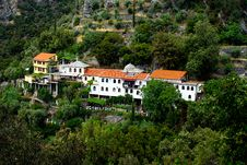 Free Traditional Village On Mount Athos Royalty Free Stock Images - 20053419
