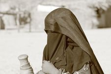 Free Bedouin Woman Stock Image - 20054271