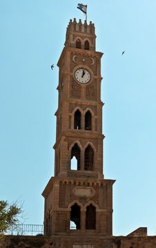 Free Clock Tower. Royalty Free Stock Photo - 20054365