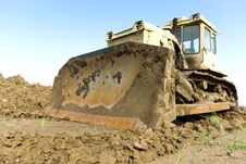 Free Digger Royalty Free Stock Photography - 20055037