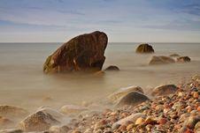 Baltic Sea Coast Stock Photography