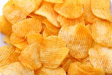Free Corrugated Potato Chips Stock Images - 20055494