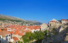 Free Panorama Of Dubrovnik In Croatia Stock Images - 20055854