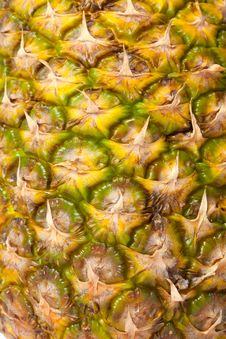 Free Pineapple Texture Royalty Free Stock Photos - 20055858