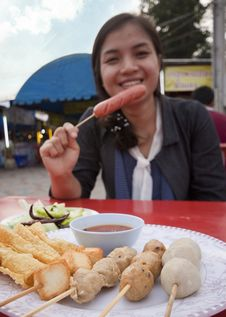 Free Thai-style Fried Foods. Stock Photos - 20055883