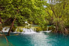 Free Plitvice Lakes In Croatia Stock Photography - 20055922