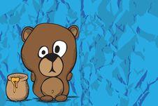Free Cute Bear Royalty Free Stock Image - 20055926