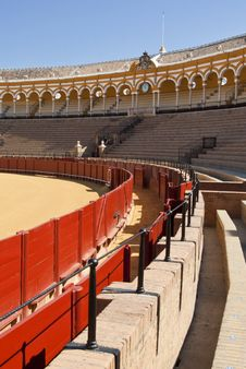 Bullfighting Ring Stock Photo