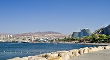 Free View On Northern Beach Of Eilat, Israel Stock Images - 20057254
