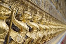 Free Gold Garuda Stock Images - 20057304