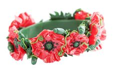 Free Bracelet With The Poppy Stock Photography - 20057412