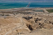 Free View On Southern Part Of Dead Sea, Israel Stock Photo - 20057530