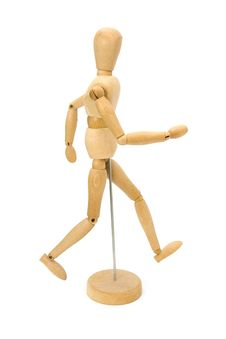 Free Wooden Artists Mannequin Stock Photography - 20057672