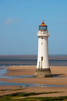 Free New Brighton Lighthouse, Merseyside, UK Stock Image - 20058071
