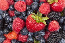 Free A Fresh Berry Texture Stock Photos - 20058333