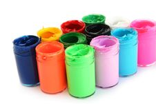 Free Colorful Paints Royalty Free Stock Images - 20058369