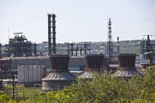 Free Petrochemical Plant Royalty Free Stock Photos - 20058478