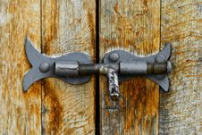 Free Old Steel Latch Stock Image - 20059631