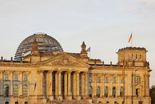 Free Berlin - Reichstag Building Royalty Free Stock Photo - 20059835