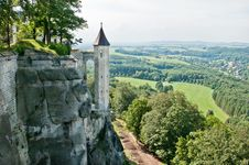 Free Panorama View From Koenigstein Royalty Free Stock Images - 20059879