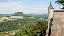 Free View Over Saxony Landscape Stock Image - 20059921