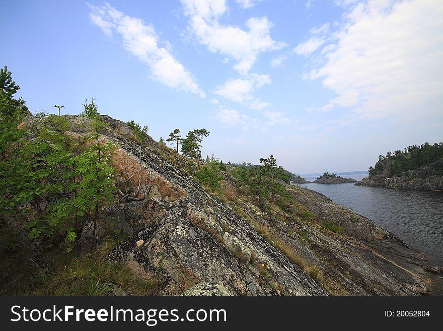 Islands of Ladoga lake
