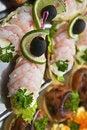 Free Large Shrimps On Plate Royalty Free Stock Image - 20062036