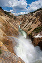 Free Rainbow Over The Waterfall In Yellowstone Stock Photos - 20064713