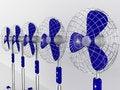 Free Electric Fan Blower Stock Photos - 20068713
