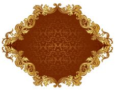 Ornate Frame Stock Image