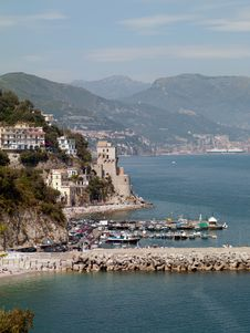 Free Coast Of Italy Royalty Free Stock Images - 20061889