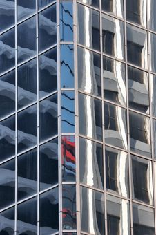 External And Glass Reflection Of Modern Building Stock Photography