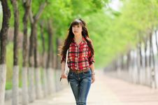 Free Young Asian Girl In Alameda Stock Image - 20062611