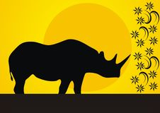 Free Wild Rhinoceros Royalty Free Stock Photo - 20063485