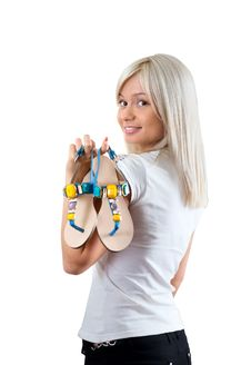 Free Summer Footwear Royalty Free Stock Image - 20063506