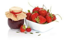 Free Strawberry Jam And Fruits Royalty Free Stock Images - 20063649