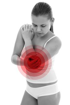 Free Painful Elbow Stock Photography - 20063652
